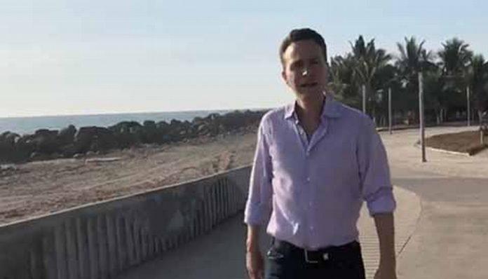 Habría qué constatar los avances en la construcción del Malecón en Puerto Madero, que estuvo abandonado por gobernadores anteriores, ahora será un atractivo turístico para propios y extraños.