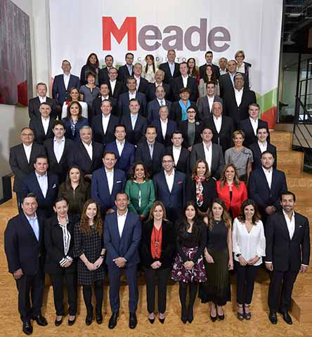 Meade Presenta su Equipo de Trabajo Para su Campaña
