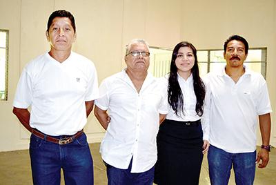 Eduardo Gutiérrez, Rodolfo de los Santos, Margarita Sánchez, Jorge Cabrera.