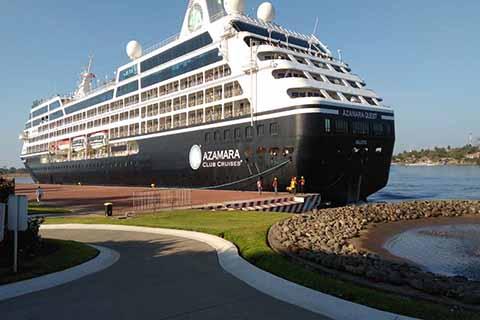 Arribó a Puerto Chiapas el Crucero Azamara Quest