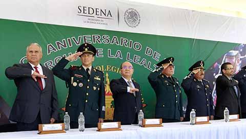 Gobierno de Chiapas Reconoce Lealtad y Compromiso de Soldados Mexicanos