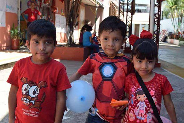 Ángel Alvarado, Brandon Antonio, Daniela Villarreal.