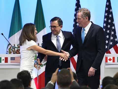 Inician México, EU y Canadá Séptima Ronda de Negociación del TLCAN