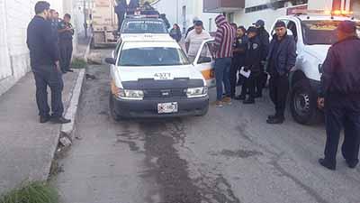 Fuera de Circulación 50 Taxis Irregulares en Tuxtla