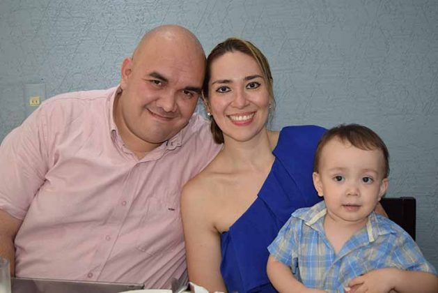 Harold Bonilla, Ana Laura Oliva, Harold Alett Bonilla.