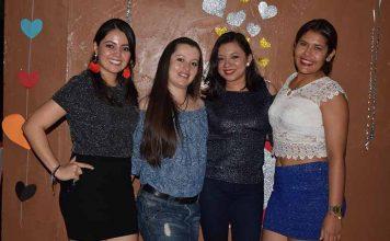 Angélica Romero, Caro González, Chantal Rodríguez, Marcela Walles.