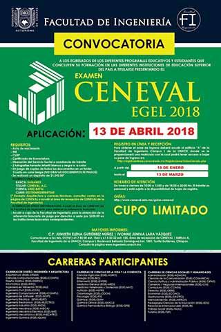 Convoca UNACH a Egresados de las Diferentes Instituciones de Educación Superior a Presentar el Examen CENEVAL