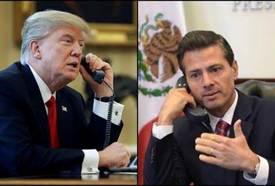 EPN Cancela Primera Visita a la Casa Blanca Tras Llamada con Trump