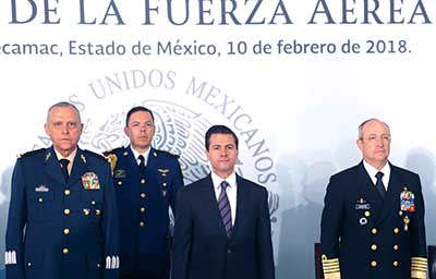 Conmemoran el 103 Aniversario de la Fuerza Aérea Mexicana