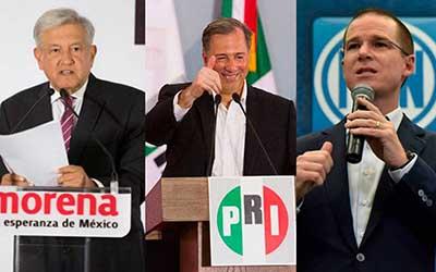Candidatos Concluyen Precampañas Electorales Ninguno Podrá Aparecer en Spots de Radio y TV
