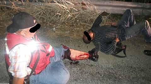 Dos Heridos el Asalto a Motociclistas en Huehuetán