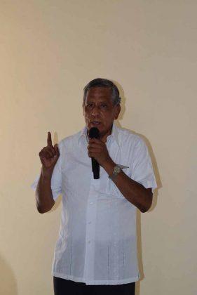 Pbro. Arnulfo Quintanar Monroy, administrador Diocesano.