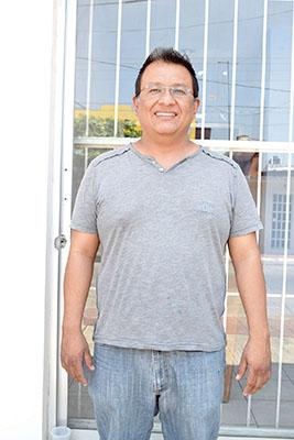 Samuel Morales, responsable del Área Médica.