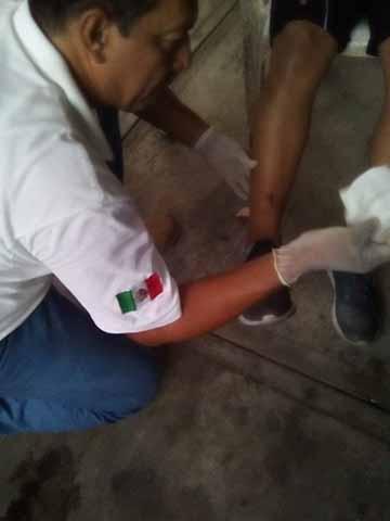 Sufre Atentado Director de Seguridad Pública Municipal de Acacoyagua