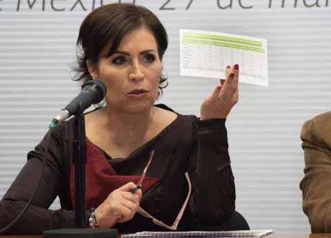 Rosario Robles Reconoce Pendientes en la Reconstrucción