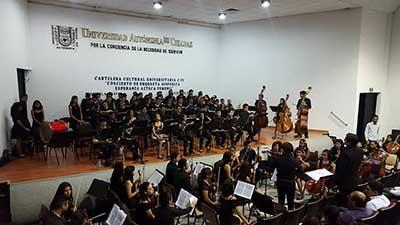 Todo un Éxito el Concierto de la Orquesta Sinfónica Esperanza Azteca Femenil
