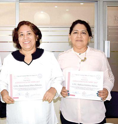 María Alfaro, Delfina Ordoñez.