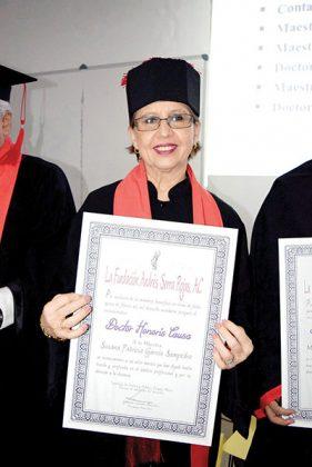 Susana García Sampedro.