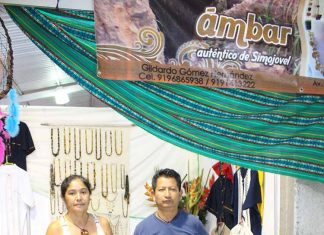 Rosa Madrid, Gildardo Gómez: artesanía en ámbar y plata de Simojovel, Chiapas.