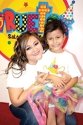 Paola Juan, Daian Montes.