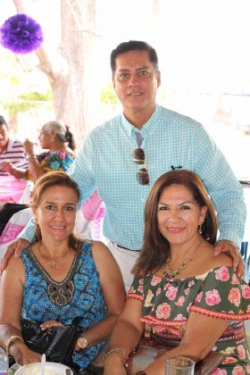 Mariana Nájera, Fernando Córdova, Irma Salas.