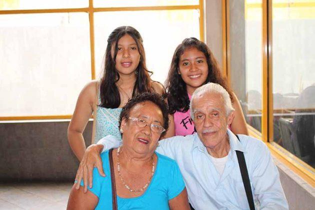 Carmen Méndez, Antulio Salas, Milipsa, Guadalupe Núñez.