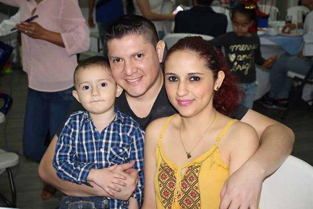 Gael, Diego Martínez, Ruby Orantes.