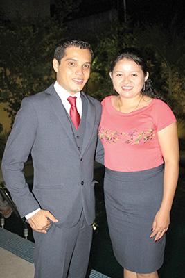 Alexis Pinto, Sarai López.