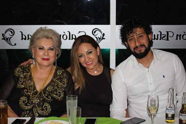 María González, Tony Garrido, Alejandro Vázquez.
