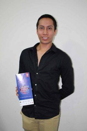 Pablo Pacheco, Bailarín Profesional de la Compañía de Danza Clásica de Quintana Roo.