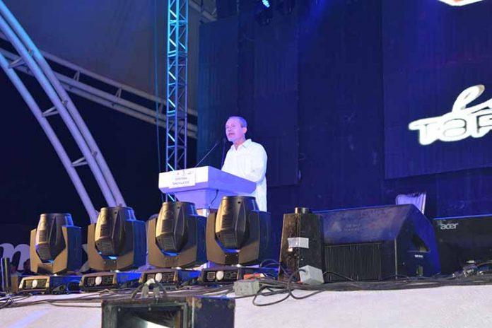 Antonio D´Amiano Gregonis, presidente del Consejo de la Expo Feria Tapachula, dio la bienvenida al máximo evento ferial de nuestra órbita.