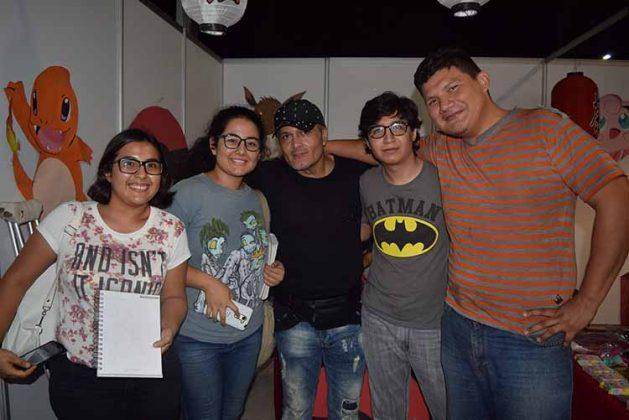 Kalid Sarmiento, Alejandra Calderón, Gabriel Gama, David Velázquez, André Espinoza.