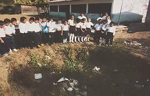 "Constructora ""H-A Construdiseño"" Dejó Abandonada Obra en Escuela"