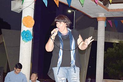 Karina Morga, taller de canto de Tapachula.