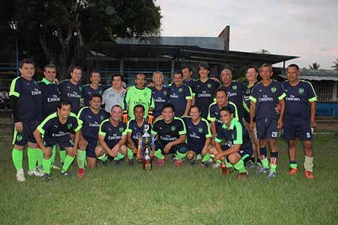 Deportivo Van der Baar en Baar, Campeón