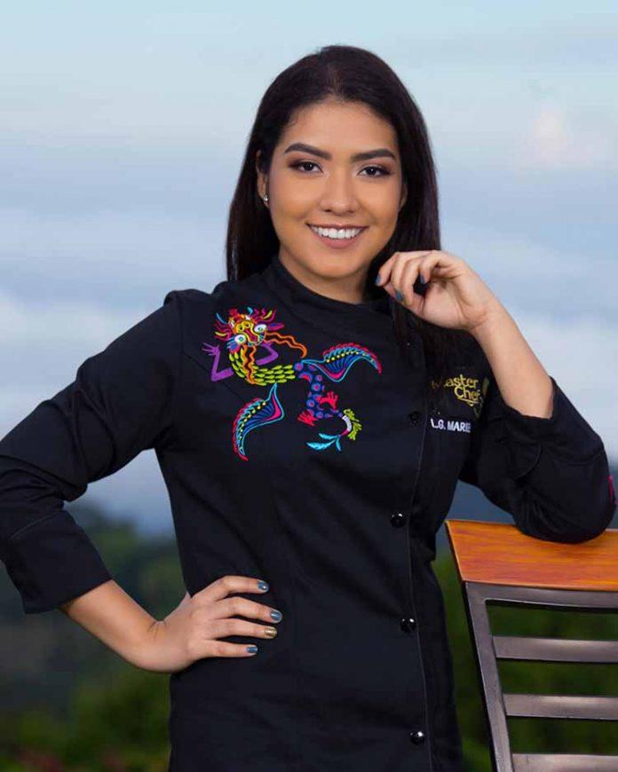 Mariel Rosario Rivas González, Licenciada en Gastronomía.