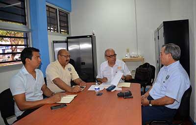 Se Reúne Rector de la UNACH Carlos con Directivos de la Escuela de Medicina Humana Campus IV