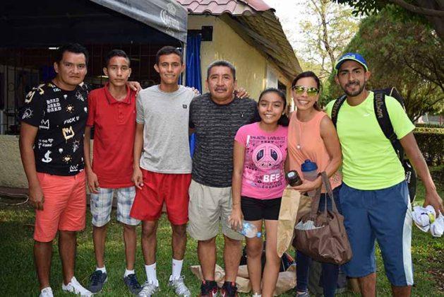 Juan Espino, Pedro Laguna, Fernando Laguna, Alfredo Espino, Rosa Antonio, Hassive Zúñiga, Pablo Pérez.
