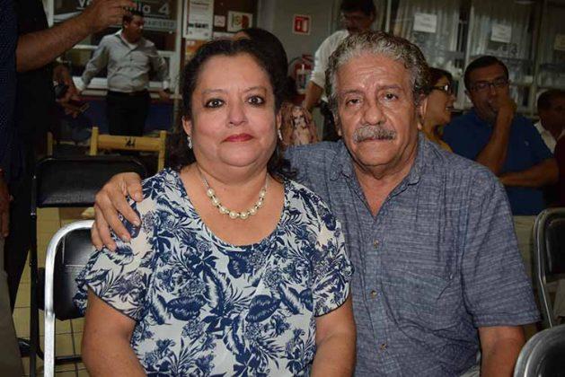 Jorge Rosales, Ana Meléndez.