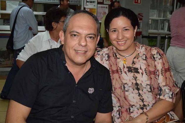 Sergio, Melissa de Pérez.