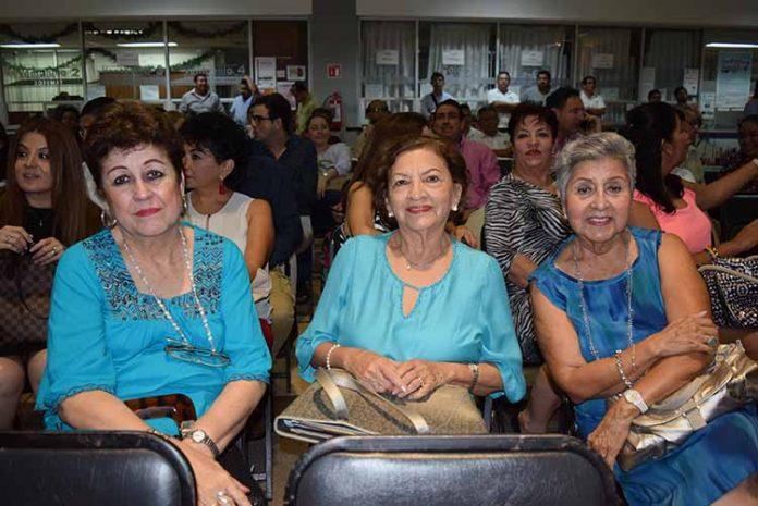 Merce de Guerrero, Yubi de Tinajero, Martita Zapata.