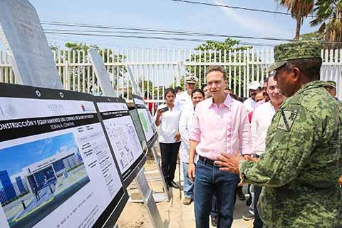 Iniciamos la Construcción del Nuevo Centro de Salud de Paredón, Tonalá: Velasco