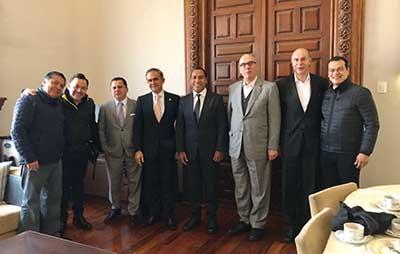 Se Reúne Eduardo Ramírez Aguilar y con Líderes Nacionales del PRD y Movimiento Ciudadano