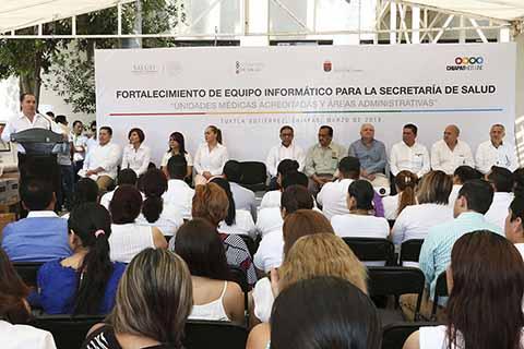 Secretaría de Salud Fortalece Unidades Médicas y Áreas Administrativas
