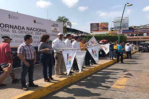 Inicia en Chiapas Jornada Nacional Contra el Dengue, Zika y Chikungunya