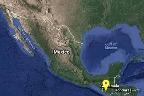 Sismo de 5 Grados Richter Sacude Chiapas y Guatemala