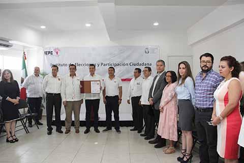 Inicia Recepción de Solicitudes de Registro de Candidaturas Para la Gubernatura de Chiapas