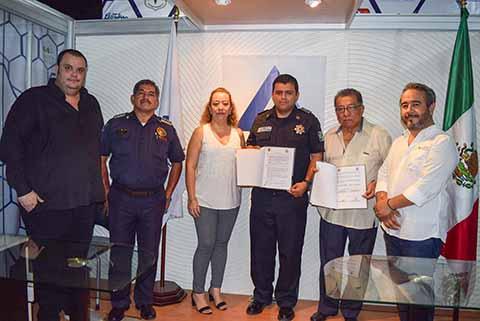 Delegación de Tránsito y CANACO Firman Convenio de Colaboración