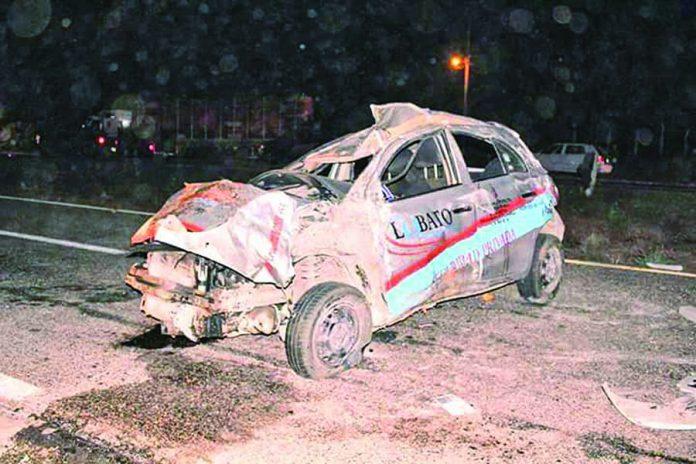Un Muerto y dos Heridos en Accidente Carretero