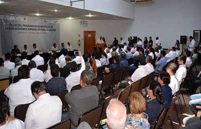 Urgen Participación Decidida de Sectores Privados, Social y de Educación en la ZEE de Puerto Chiapas